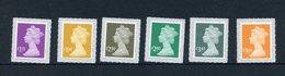 Great Britain 2019 - Tariff Machin Definitives 2019 Stamp Set Mnh - 1952-.... (Elisabetta II)