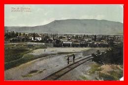 CPA CORINTHE (Grèce)  Vue Panoramique, Voie Ferrée Et Train...I783 - Grecia