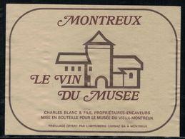 Etiquette De Vin // Montreux, Le Vin Du Musée - Etiquettes