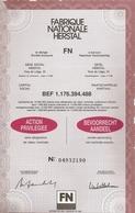 FN - Herstal - Hist. Wertpapiere - Nonvaleurs