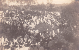CPA Ethiopie - Addis Abeba - Carte Photo - 1927 - Etiopia