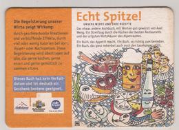 Hofbräuhaus Traunstein , Echt Spitze , Bestell - Deckel Fürs Wirtekochbuch - Beer Mats