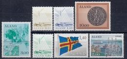 +G2155. Åland 1984. Complete Year Set. Michel 1-7. MNH(**) - Aland