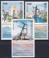 ISRAEL 1991 Mi-Nr. 1192/94 ** MNH - Ungebraucht (mit Tabs)