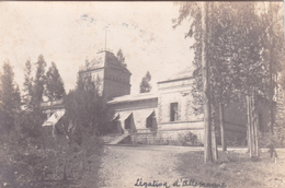 CPA Ethiopie - Addis Abeba - Légation D'Allemagne - Carte Photo - 1927 - Ethiopie