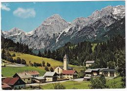 Lungötz Im Lammertal (850 M) Mit Tennengebirge, 2219 M - (Land Salzburg) - Oostenrijk