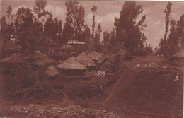CPA Ethiopie - Addis Abeba - Village - 1927 - Etiopia