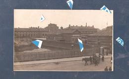 Brussel Bruxelles 1914 1918 Carte Photo Fotokaart Militair Hospitaal Met Duitse Wachtpost - Gezondheid, Ziekenhuizen
