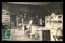 51 - REIMS - LA BIBLIOTHEQUE DE L'HOTEL DE VILLE - Reims