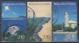 CROATIA 961-963,used,lighthouses - Croatie