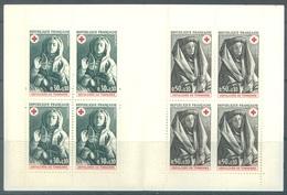 FRANCE - 1973 - MNH/** - CROIX ROUGE SEPULCHRE DE TONNERRE  - 1779 1780 Yv  CARNET 2022 - Lot 19730 - Carnets