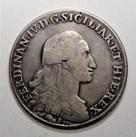 NAPOLI FERDINANDO IV PIASTRA II TIPO 1794 (A11) - Regionales Geld