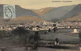 Oyonnax Toilée Colorisée - Oyonnax