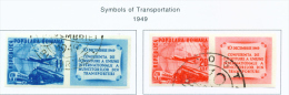 ROMANIA - 1949 Transport Congress Used As Scan - Used Stamps