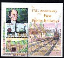 Serie Nº 5093/5 Used Guyana - Trenes