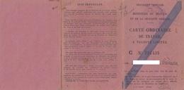 PERMESSO DI LAVORO _ 1948 /  PERMIS DE TRAVAIL - Documento  -  BELGIO _  Visti E Marche Da Bollo - Fiscal - Historical Documents
