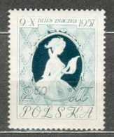 POLAND MNH ** 913 JOURNEE DU TIMBRE. TABLEAU DE FRAGONARD, Fille Lisant Une Lettre Courrier - 1944-.... République