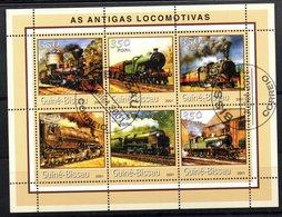 Serie Nº 1031BK/BQ  Used Guinea-bissau - Trenes