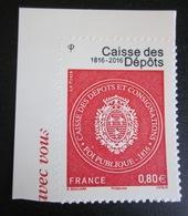 France - YT AD 1269 ** - Caisse Des Dépôts - France