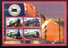 Serie Nº 4207/10  Used Liberia - Trenes