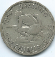 New Zealand - George V - 1933 -Shilling - KM3 - Nouvelle-Zélande