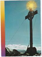 Schobergruppe - (Kärnten-Osttirol) - Gipfelkreuz Am Glödis, 3206 M Mit Blick Gegen Hochschober, 3240 M, Bei Kals - Kals