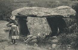 Dolmen Saint Nectaire Petite Auvergnate VDC  ELD Vers Lacave Par Souillac Lot Garde Noyé - Dolmen & Menhirs