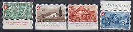 Switzerland 1945 Pro Patria 4v (+margin) ** Mnh (43155) - Pro Patria