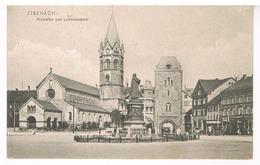 Eisenach - Nicolaitor Und Lutherdenkmal - Eisenach
