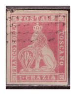Altitalien - Toskana, Nr. 4y, Gestempelt - Toscana