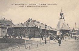 """Cp , 13 , MARSEILLE , Exposition Coloniale """"Cochinchine"""", Maison De Repos Des Notables Annamites - Monuments"""