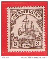 MiNr. 7 Xx  Deutschland Deutsche Kolonie Kamerun - Kolonie: Kamerun
