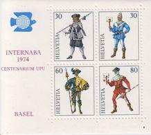 Switzerland 1974 Internaba Basel M/s ** Mnh (43157) - Blokken