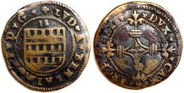 FRANCE - Archevêché De Cambrai - Louis De Berlaimont [1570-1596] - 2 Deniers. - 476-1789 Monnaies Seigneuriales