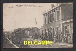 DD / 70 HAUTE SAÔNE / PORT-SUR-SAÔNE / ARRIVÉE DU TRAIN DE VESOUL EN GARE DU CHEMIN DE FER / ANIMÉE / 1924 - Other Municipalities
