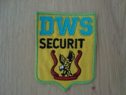 ECUSSON TISSUS DWS SECURIT - Ecussons Tissu