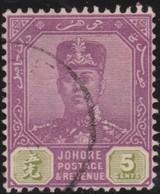 Johore     .   SG     .   65      .      O         .     Cancelled      .   /    .  Gebruikt - Johore