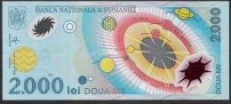 ROMANIA  P111   2000 LEI   1999    UNC. # 003C1239181 - Rumania