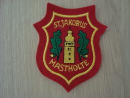 ECUSSON TISSUS SIJAKOBUS MASTHOLTE - Ecussons Tissu