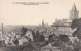 CAEN : Panorama-Vue Du Labyrinthe - Caen
