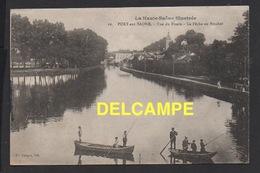 DD / 70 HAUTE SAÔNE / PORT-SUR-SAÔNE / VUE DU BASSIN  --  LA PÊCHE AU BROCHET / ANIMÉE / 1919 - Francia
