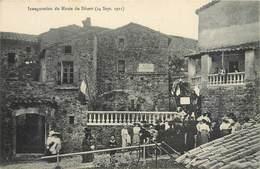 CPA 30 Gard Le Mas Soubeyran Mialet Inauguration Du Musée Du Désert 24 Septembre 1911 Anduze Alais Aigoual - Frankrijk