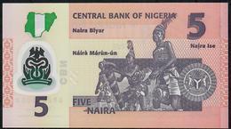 NIGERIA P38l 5 NAIRA 2018 UNC. - Nigeria