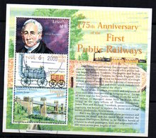 Serie Nº 1601/3   Used  Lesotho - Trenes