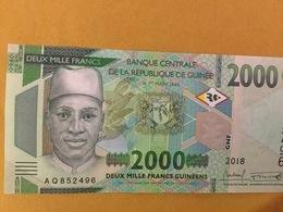 GUINEA NLP 2000 + 10.000 + 20.000 Francs 2018 Issued 2019 UNC - Guinea