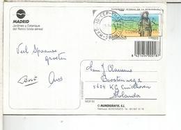 MADRID TP CON SELLO CAMINO DE SANTIAGO PATRIMONIO DE LA HUMANIDAD - 1931-Hoy: 2ª República - ... Juan Carlos I