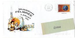DORDOGNE - Dépt N° 24 = MUSSIDAN 2005 = PAP FELIBREE  + FLAMME Muette SAVIGNAC - Prêts-à-poster: Repiquages Privés