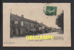 DD / 70 HAUTE SAÔNE / POYANS / HABITANTS DEVANT LE CAFÉ DU NORD / 1913 - Other Municipalities