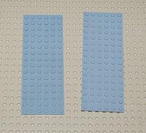 Lego 2x Plate Gris 6x16 Ref 3027 - Lego Technic