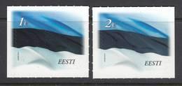 Estland 2014. Fahne. 2 W. MNH. - Estland
